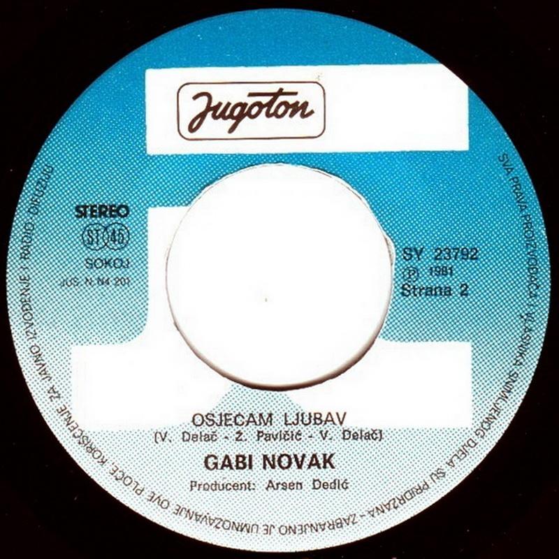 Gabi Novak 1981 Jedini moj vinil 2
