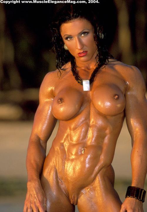 фото накаченных девушек боди голых