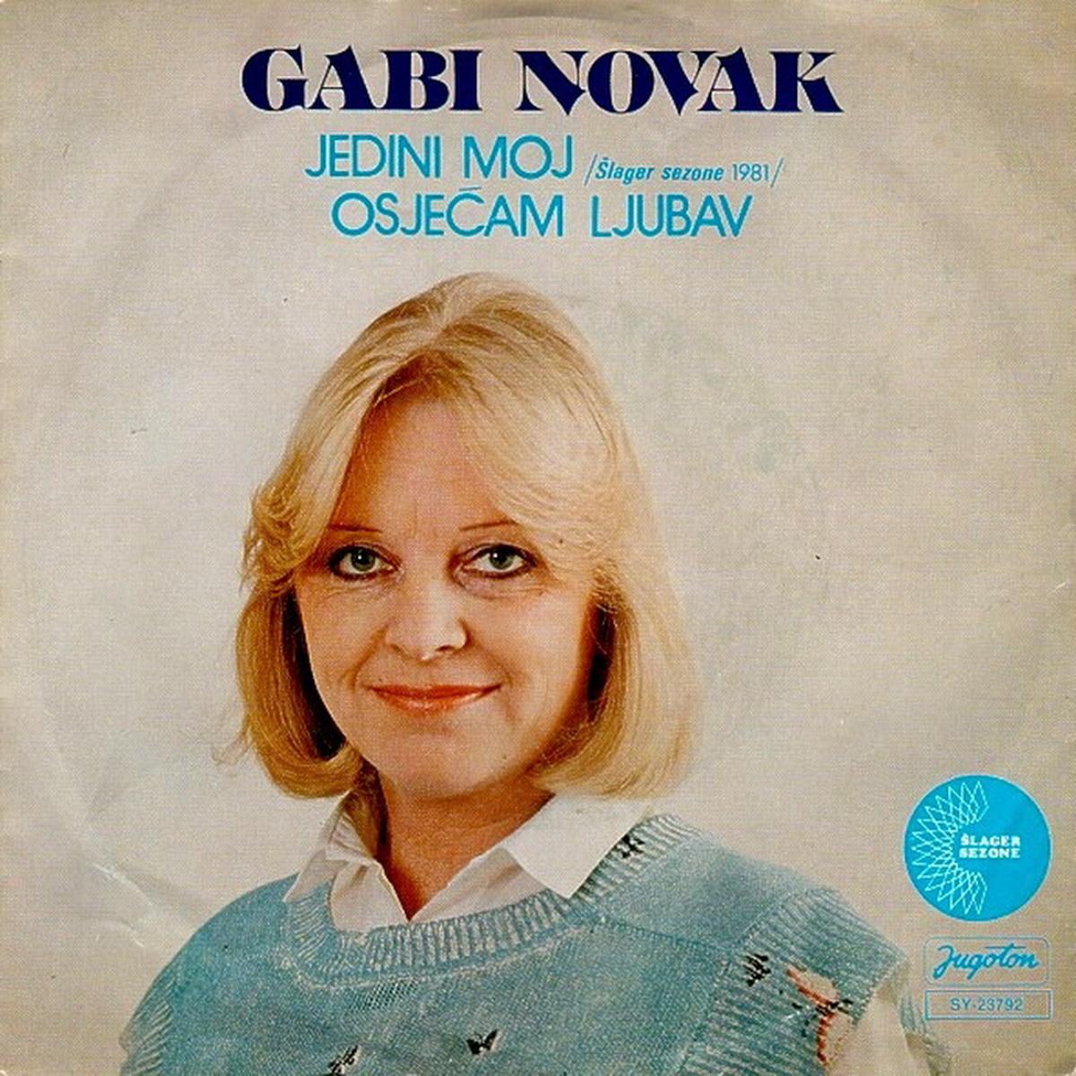 Gabi Novak 1981 Jedini moj A