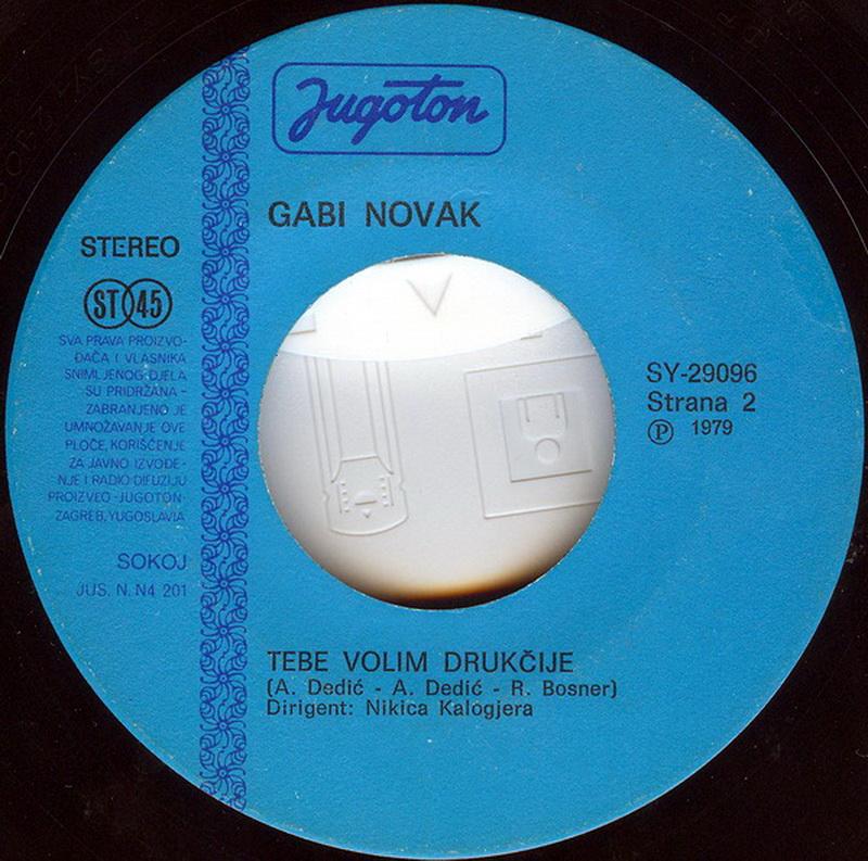 Gabi Novak 1979 Sto je ljubav vinil 2