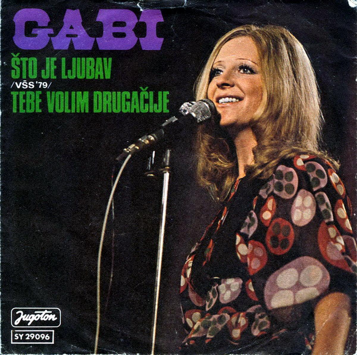 Gabi Novak 1979 Sto je ljubav b