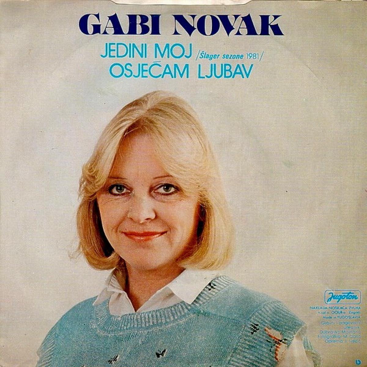 Gabi Novak 1981 Jedini moj B