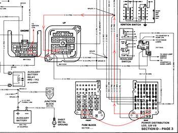 ford f650 transmission wiring